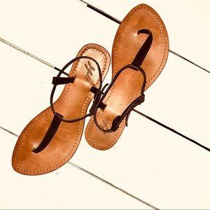 J. Jill leather sandals sz 8.5